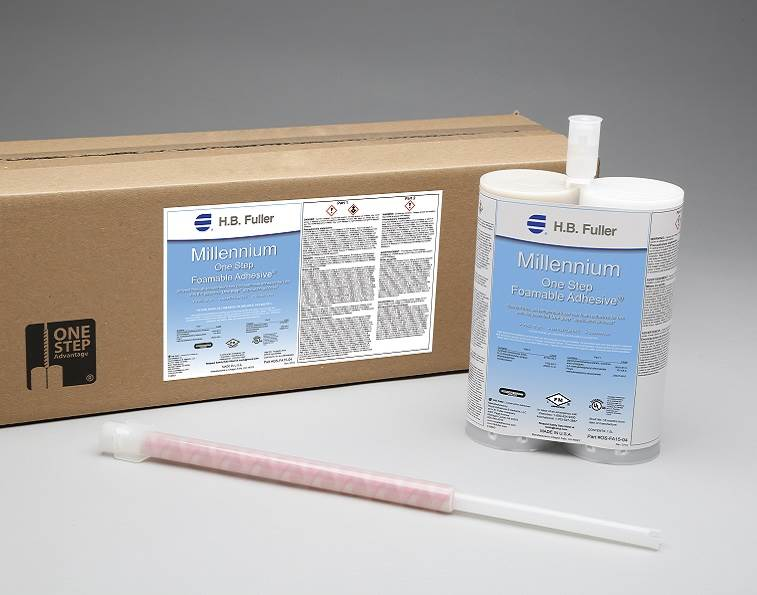 Millennium One Step Foamable Adhesive from H.B. Fuller.