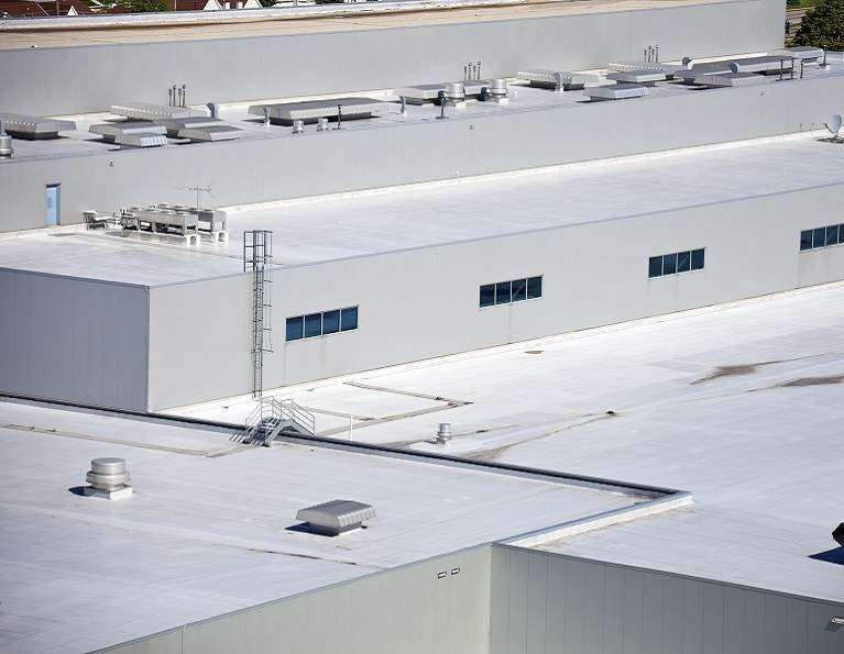 TPO Commercial or Industrial Roof